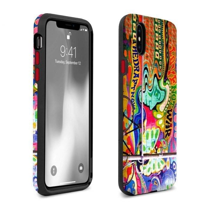 love not war iphone x xs case 1