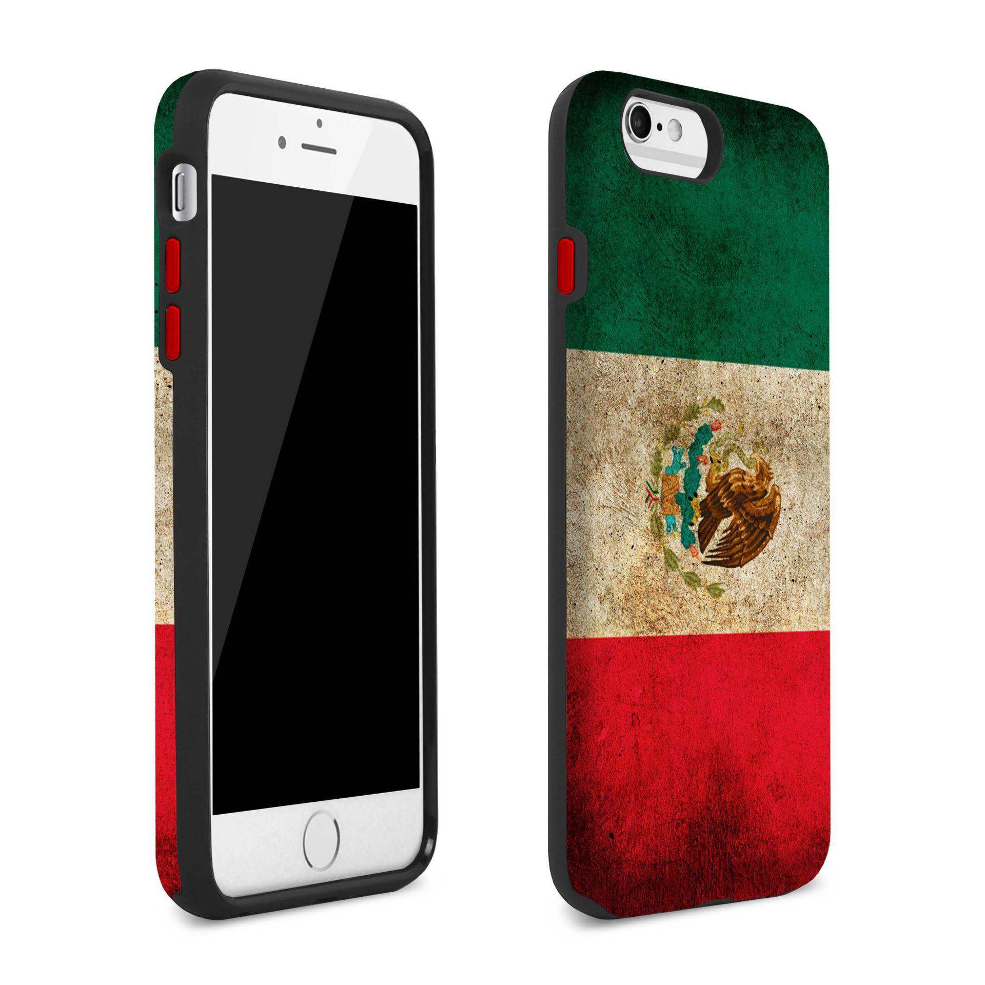 wholesale dealer 17bdf 718d3 Mexican Flag iPhone 7 Plus Case