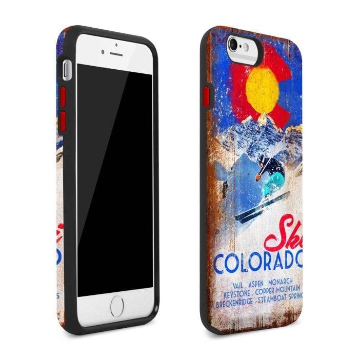 ski colorado iphone plus case 1
