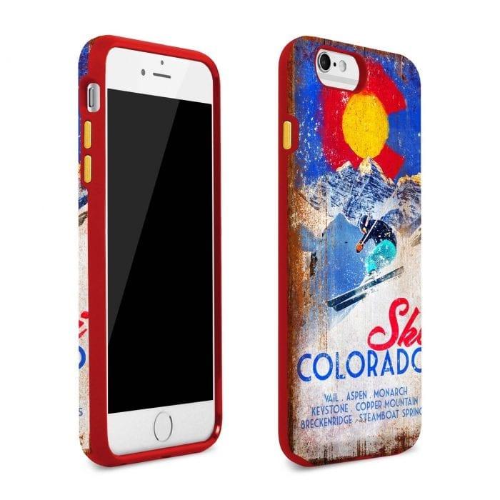 ski colorado iphone plus case 2