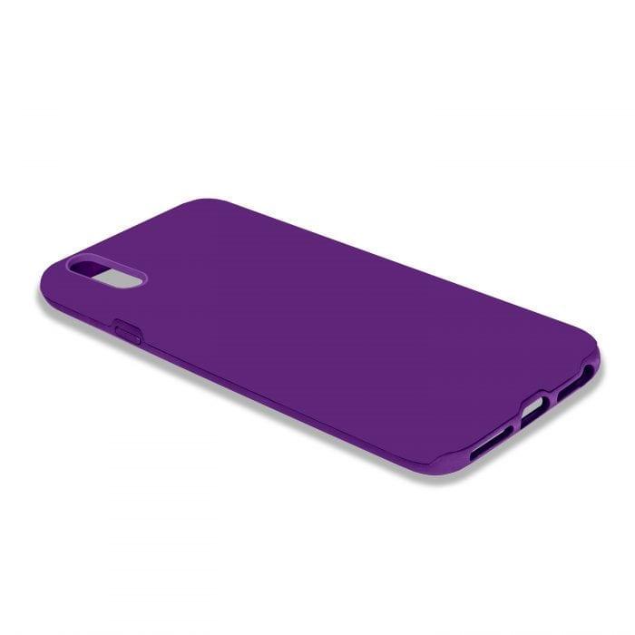 iPhone X Purple Tpu