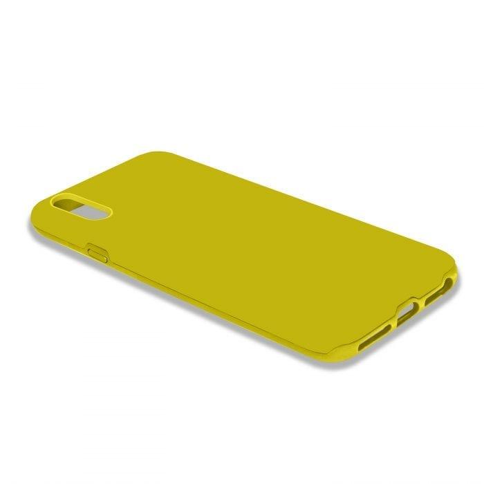iPhone X Yellow Tpu